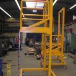 Metallbau Erzeugnis 2 Rollgerüst