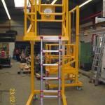 Metallbau Erzeugnis 3 Rollgerüst