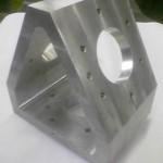 Aluminium Frästeil mit CNC-Fräse