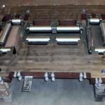 rahmen mit integrierten laufrollen Stahl Dreh- u. Frästeile - CNC Fräse